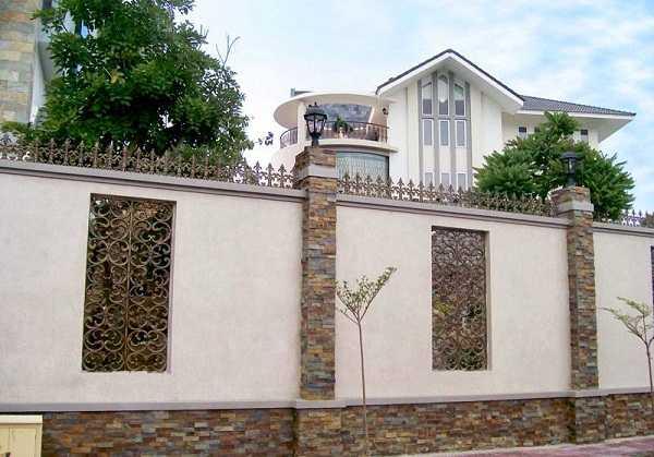 Cách chọn màu sơn tường rào phù hợp phong thủy