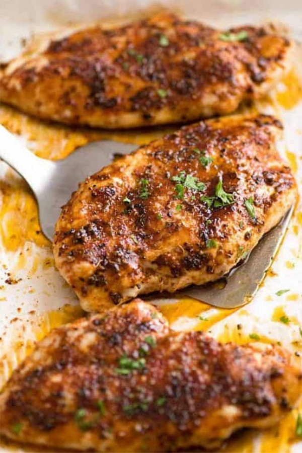 Best Oven Baked Chicken Breast