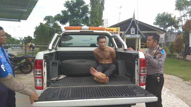 Ngamuk di BIM, Pemuda Asal Nias Diamankan Polisi