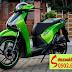 Sơn xe Honda Sh màu xanh Kawasaki Z1000 [SH_SG2010]
