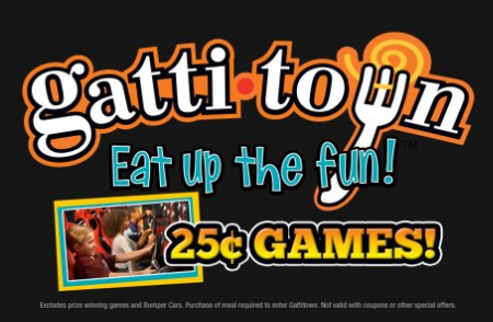 photograph about Gatti Town Coupons Printable identified as Gatown evansville discount coupons / Dads puppy meals coupon codes printable