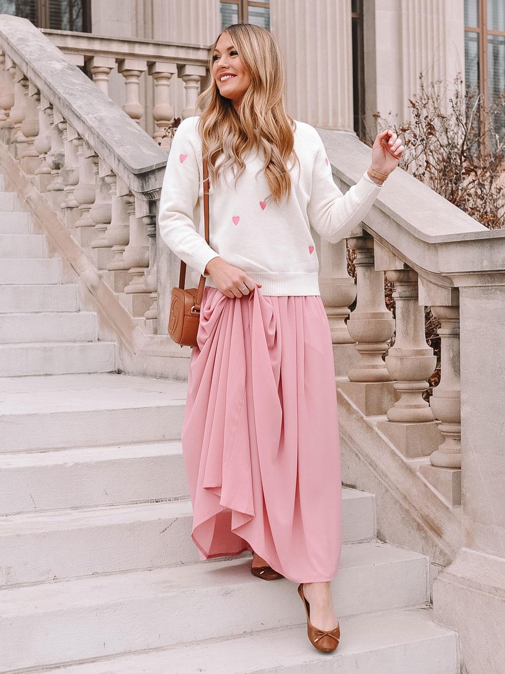 Amanda Martin of Amanda's OK Shares Valentine's Day outfit inspo