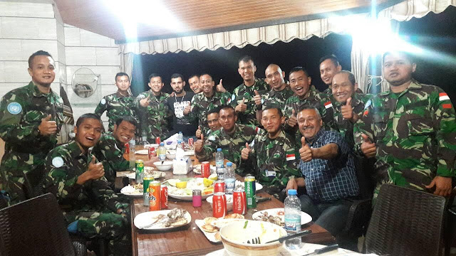 Komandan Kontingen Garuda kunjungi Tokoh Masyarakat Lebanon Selatan