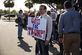 """Ativista gay: """"Depois do ataque em Orlando, vou votar em Trump""""."""