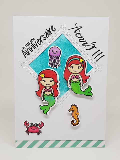 Sunny Studio Stamps: Sunny Saturday Customer Card Share by Dennice Watts