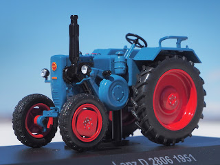 IXO 1/43 lanzbulldog d2806 hachette traktoren-sammlung