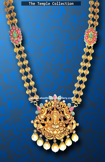 Ganesh Pendant Long Chain