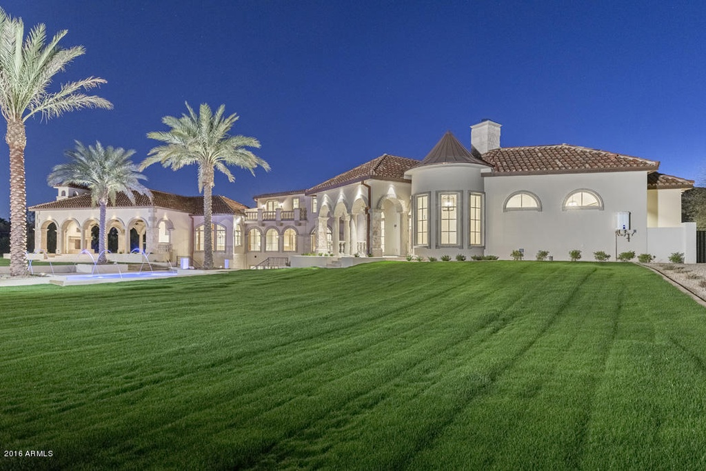 The Most Exquisite Home In Paradise Valley Arizona On