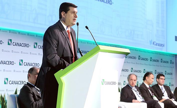 Subsecretario de Industria y Comercio de la Secretaría de Economía (SE), Rogelio Garza Garza. (Foto: SE)