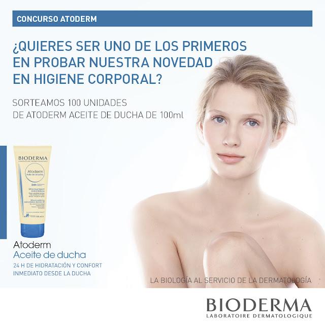 100 muestras de aceite de ducha  de la marca Bioderma