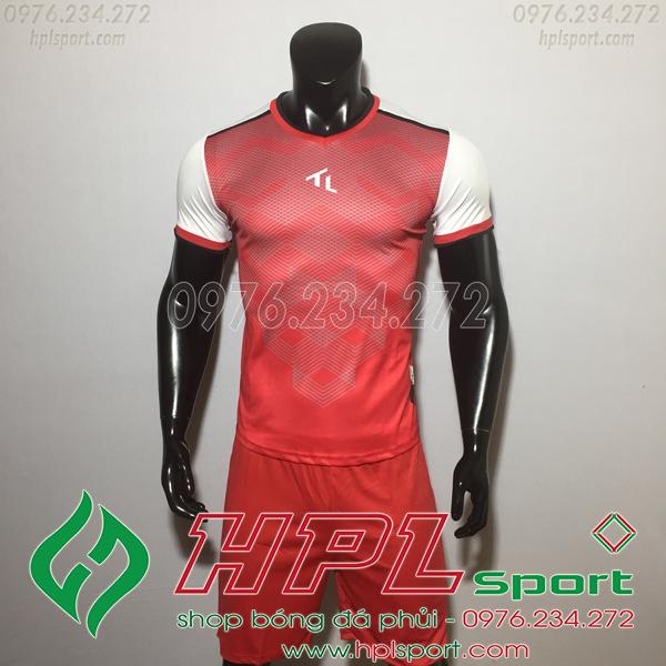 Áo bóng đá không logo TL HML Xabi  màu đỏ