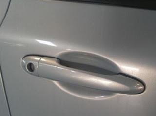 gambar pemegang pintu (door handle) kereta Proton Persona SE 2008