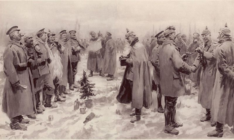 Christmas Day Truce, world war one