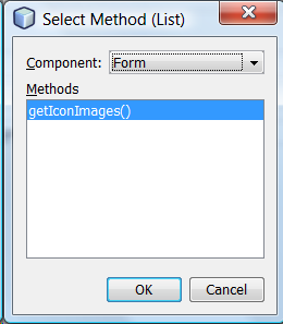 Mark's Area of Thoughts: NetBeans JFrame Properties: iconImage