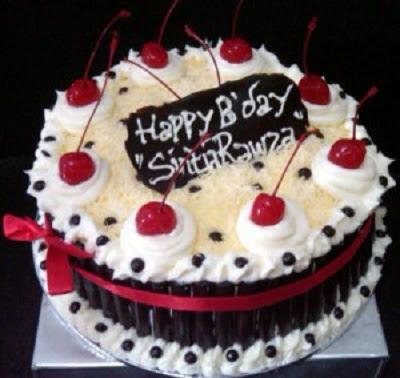 Kue Ulang Tahun Mini Sederhana