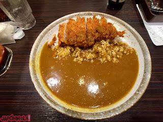 Curry con tonkatsu de Curry House Coco's Ichibanya