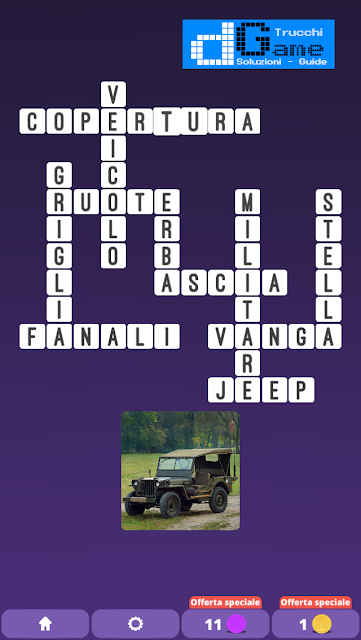 Soluzioni One Clue Crossword livello 7 schemi 14 (Cruciverba illustrato)  | Parole e foto