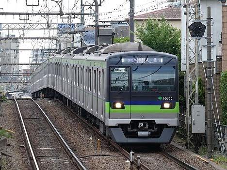 京王電鉄 都営新宿線直通 区間急行 大島行き4 10-300形520F