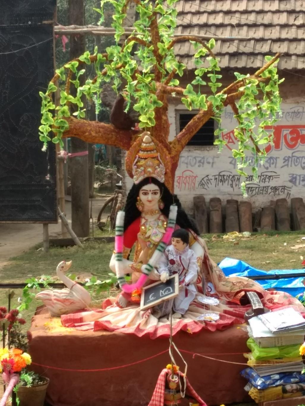 kolkata blog saraswati puja rural bengal