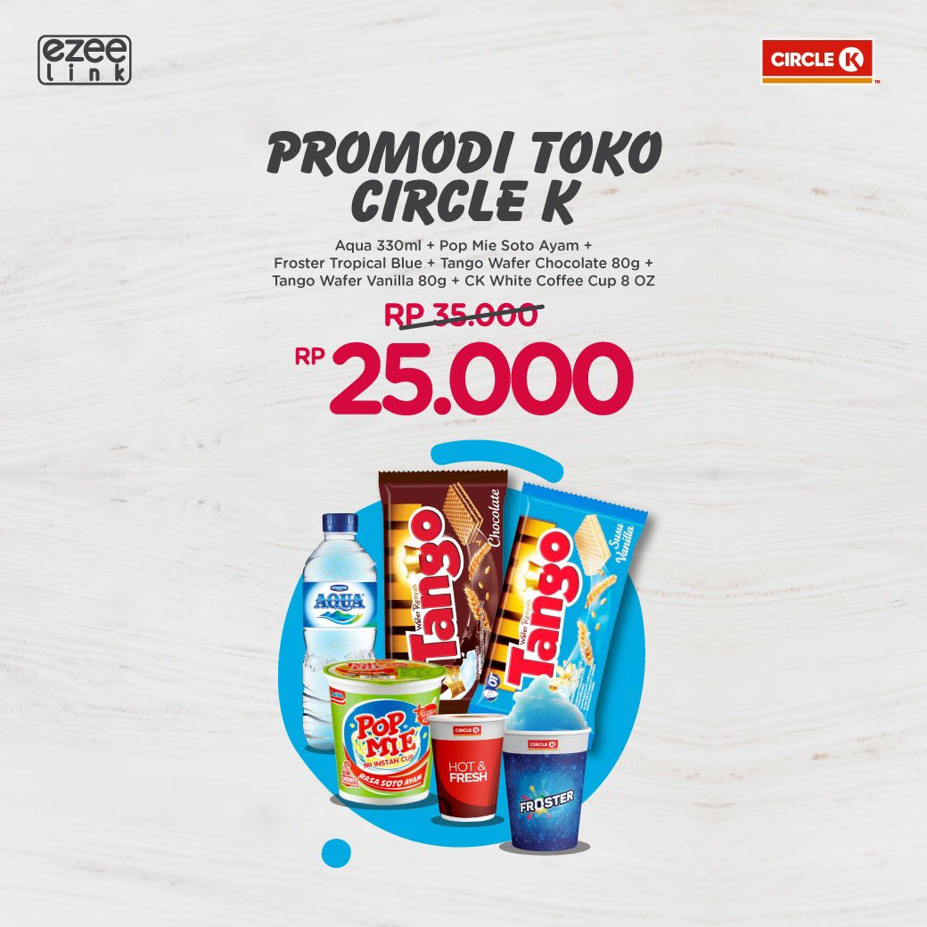 CircleK - Promo Promodi Toko Circle K 25 Ribu Banyak Produk