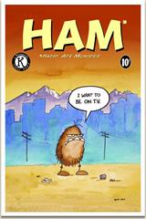 HAM Comic Book