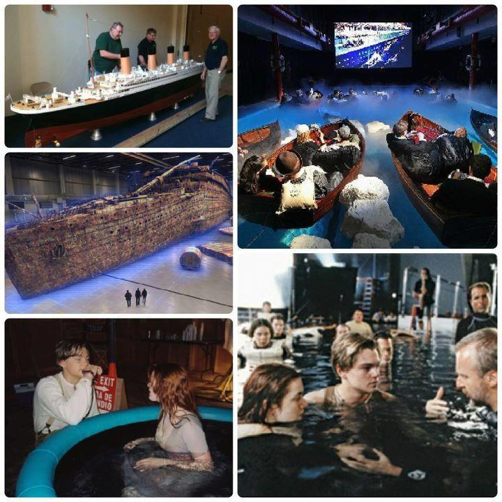 Enjoy without limitations evidences that titanic - Was the titanic filmed in a swimming pool ...