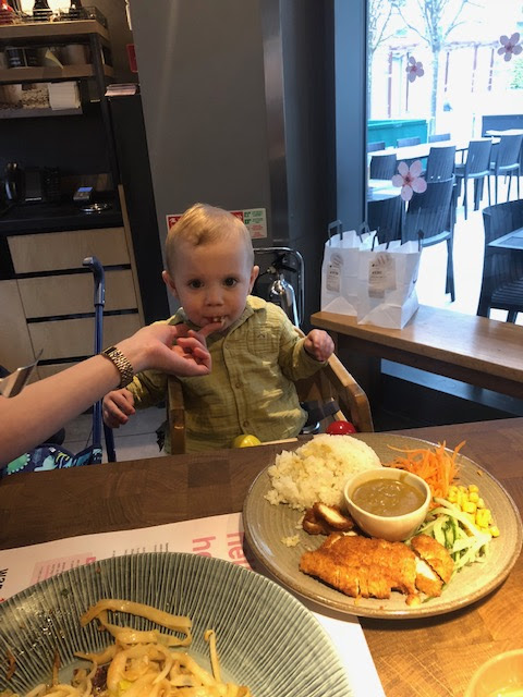 Wagamama, Victoria, London, Toddler, Mum of One, Parent Blogger, Food Blogger, Day Trip