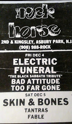 The Rock Horse in Asbury Park, New Jersey band lineup