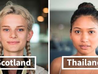 Fotógrafa tira fotos de pessoas de diferentes partes do mundo em aeroporto