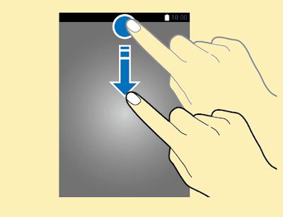 Samsung Galaxy Note5 Notification Panels