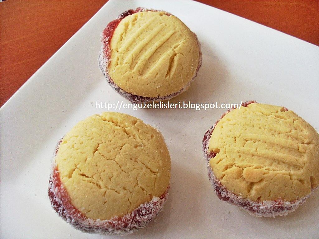 Marmelatlı Pastane Kurabiyesi