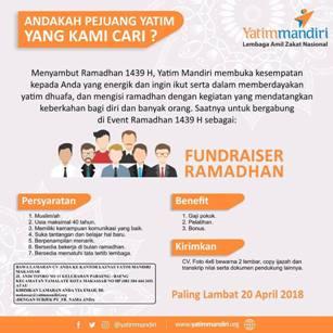 Lowongan Kerja di Yatim Mandiri Makassar