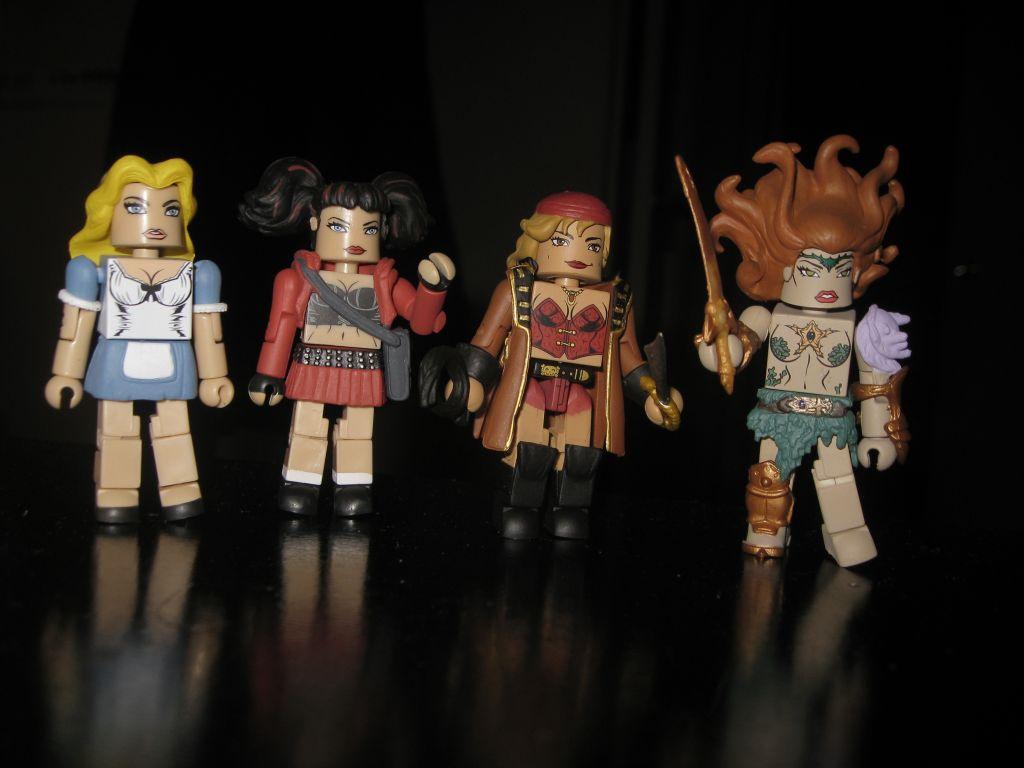Femme Fatales Minimates Series 2 Medusa
