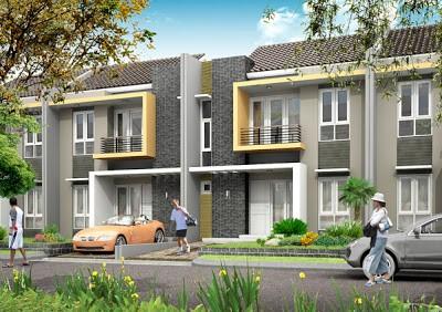 model rumah cluster 4