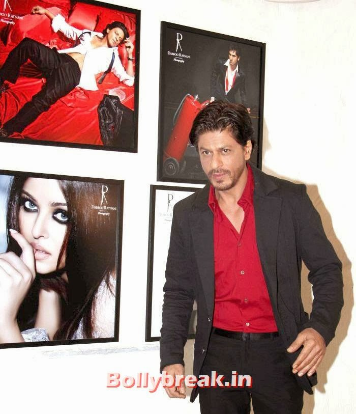 Shahrukh Khan, Dabboo Ratnani's 2014 Calendar Launch Pics
