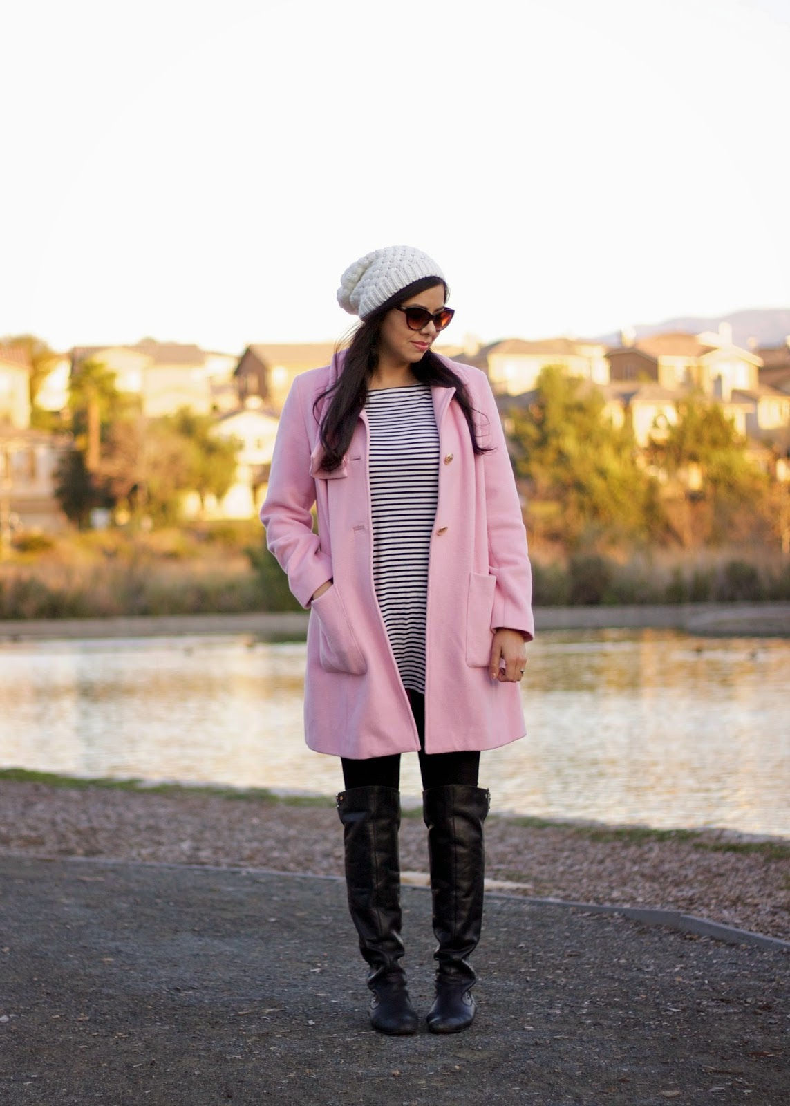 Pink and stripes, san diego fashion blogger, san diego style bloggers, san diego fashion, san diego winter fashion 2015, san diego winter fashion, san diego fall fashion, best of san diego bloggers
