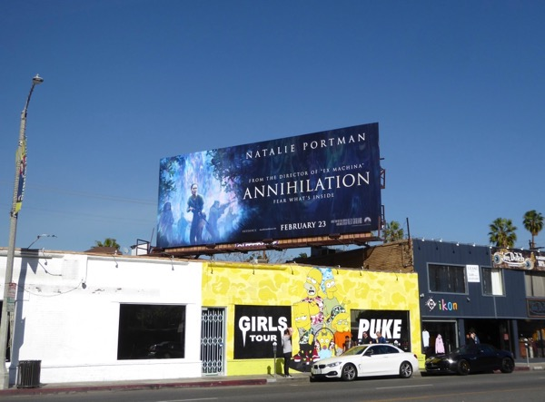 Annihilation film billboard