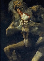 Francisco de Goya, Saturn Devouring Son (1819)