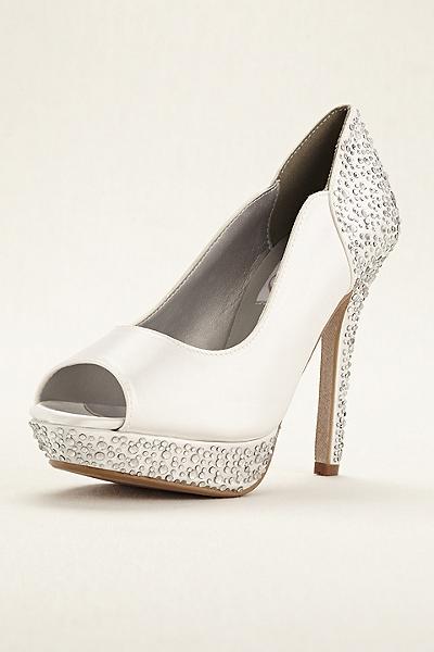 zapatos de novia para vestido corto