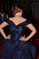 Payal Ghosh aka Harika in Dark Blue Deep Neck Sleeveless Gown at 64th Jio Filmfare Awards South 2017 ~  Exclusive 019.JPG
