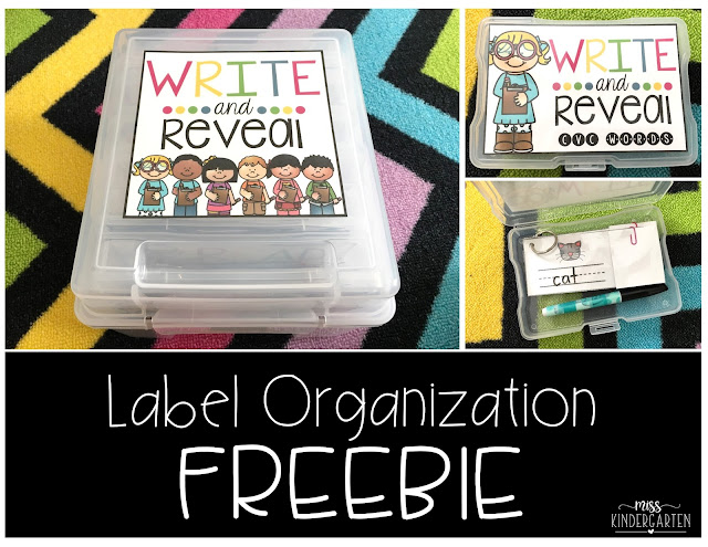 https://www.teacherspayteachers.com/Product/Write-and-Reveal-Label-Organization-freebie-2879282