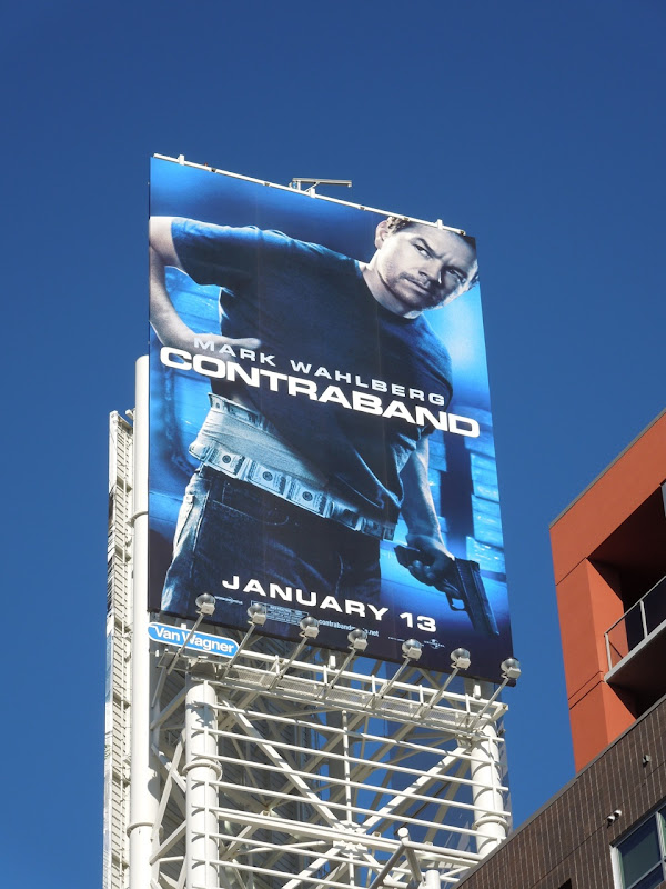 Contraband Mark Wahlberg billboard
