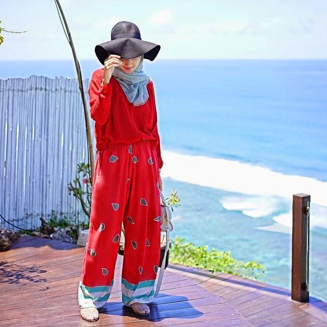 Red Look Padu Padan Warna Merah By Dian Pelangi Khci
