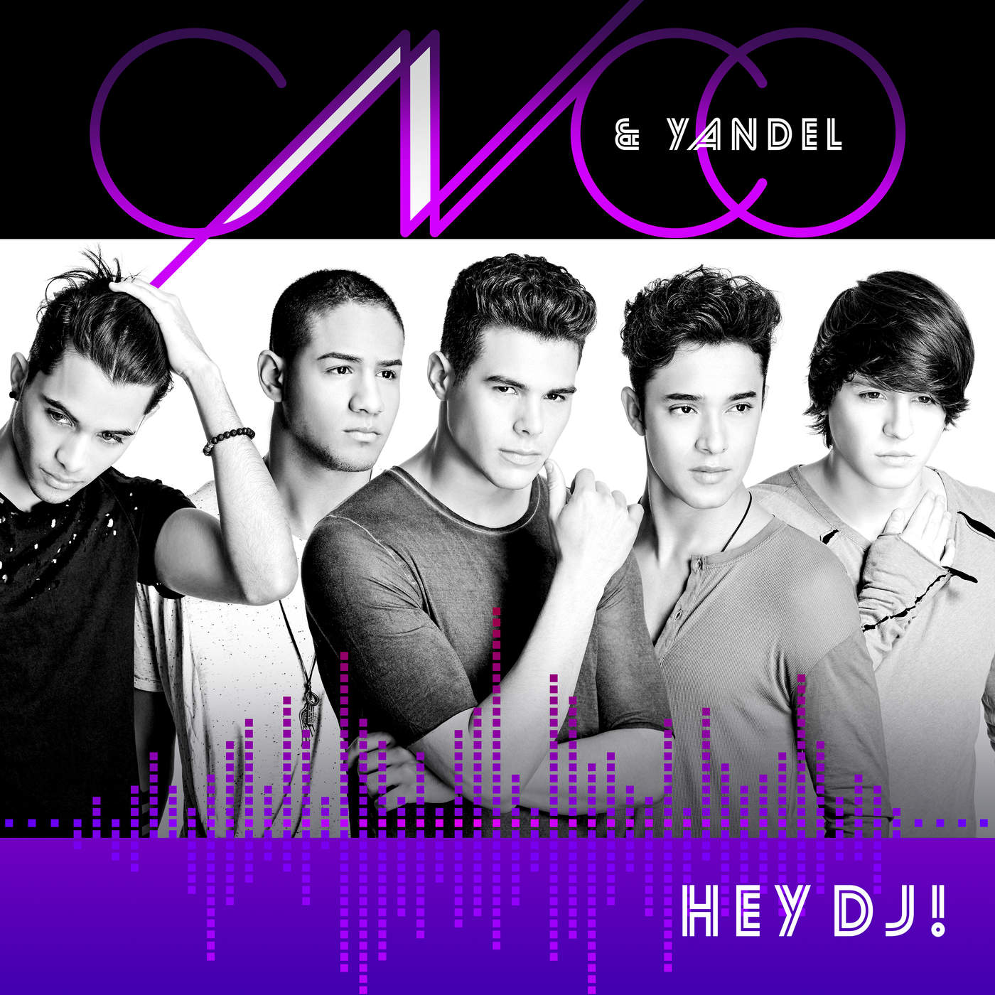 CNCO & Yandel - Hey DJ - Single