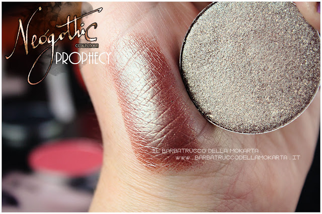prophecy swatches neogothic collection neve cosmetics