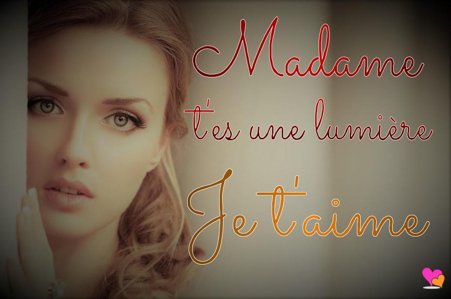 Madame je t'aime