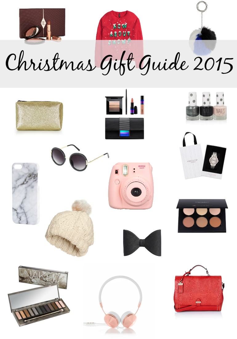 I've been thinking about writing a Christmas gift guide for weeks but I wasn't sure cause everyone else is writing them and I'm sure you're already sick of them, or maybe not if you're reading this(?) but I decided to write it anyway. This is my first ever gift guide and, not gonna lie, I'm really excited!