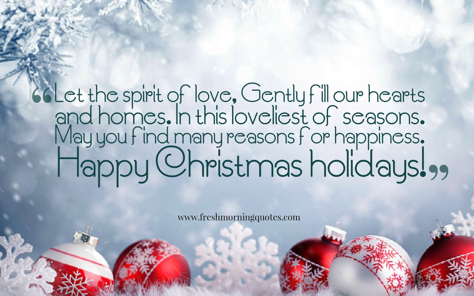 let the spirit of Christmas quotes