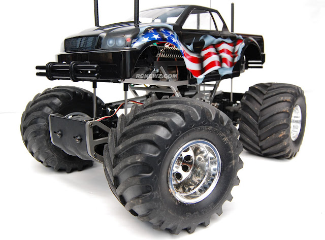 Tamiya TXT-1 american flag paint job