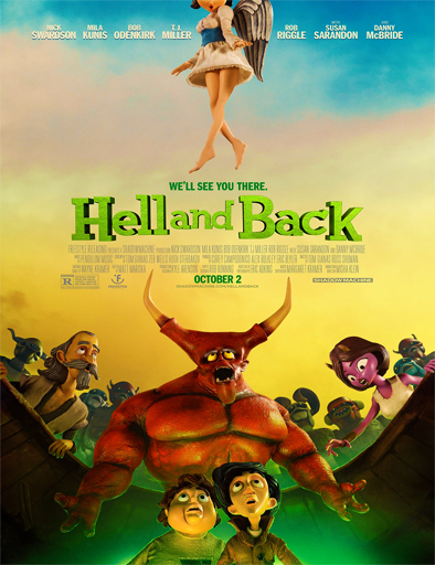 Ver Al averno y de regreso (Hell and Back) (2015) Online